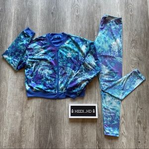 adidas Jackets & Coats - Adidas Ocean Element's Printed Set